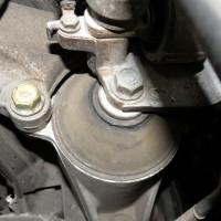 Замена опоры двигателя
